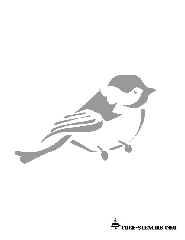 free printable wall stencils of birds