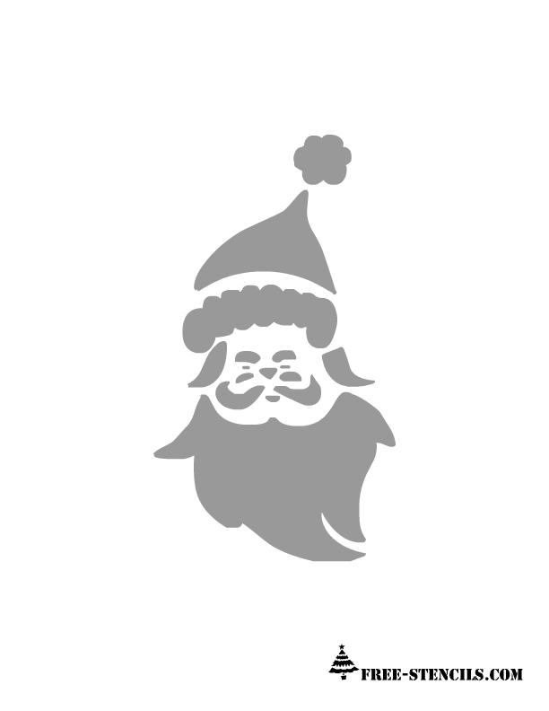 Craft Kits for Kids: Free Printable Santa Stencils