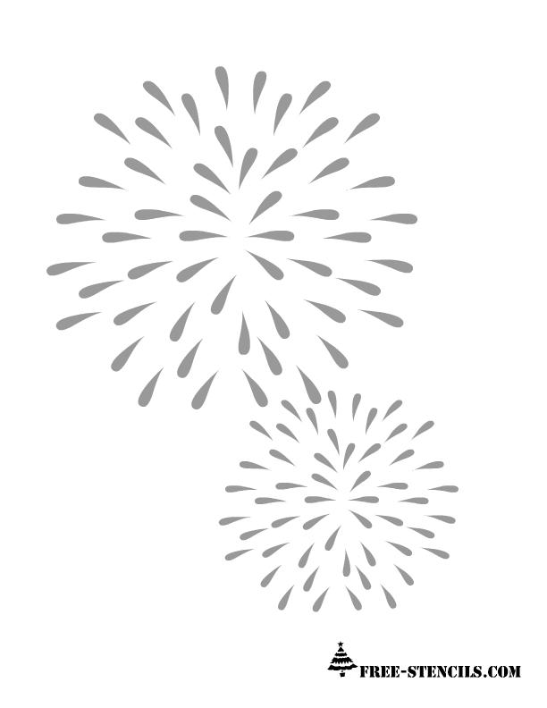 Free Printable Celebration Stencils
